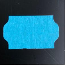 Etiket 32x19 golfrand blauw perm Td27213008