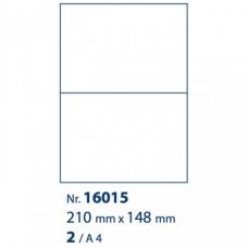 Acropaq etiketten A4 210x148mm 100vel à 2st Tac16014