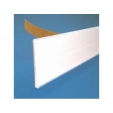 Prijshouder 26mm 10cm wit met tape Td2001260110