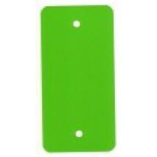 PVC-labels 54x108mm groen 2 gaten 1000st Td35987117