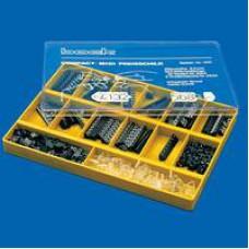 Prijscassette Compact Mini 1305 zwart/goud Td18121305