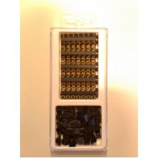 Compact Midi zwart/goud 120st Td18002100