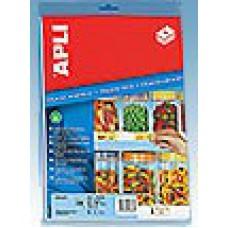 Apli magnetic schaplabel 28x80mm Td35390246