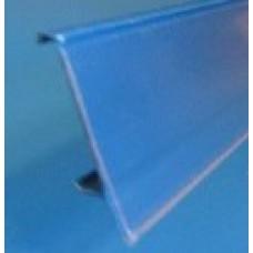 Scanprofiel/prijsstrip 100cm transparant Tego Tm44844TR