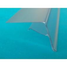 Scanprofiel/prijsstrip 26mm voor glasplaat  Td20012006