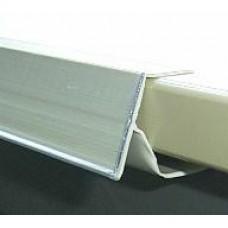 Scanprofiel/prijsstrip 40mm voor plank wit Td20013905