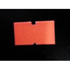 Etiket 21x12 rechthoek fluor rood permanent Td27383014