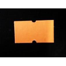 Etiket 21x12 rechthoek fluor oranje permanent Td27383015
