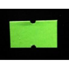Etiket 21x12 rechthoek fluor groen permanent Td27383017