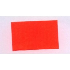 Etiket 26x16 rechthoek fluor rood permanent Td27173014