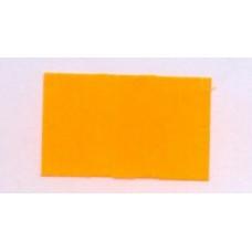 Etiket 26x16 rechthoek fluor oranje permanent Td27173015