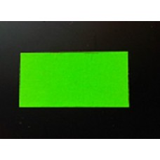 Etiket 26x16 rechthoek fluor groen permanent Td27173017