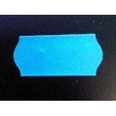 Etiket 26x12 golfrand blauw afneembaar Td27113108