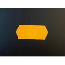 Etiket 26x12 golfrand fluor oranje afneembaar Td271131155