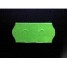 Etiket 26x12 golfrand fluor groen afneembaar Td27113117