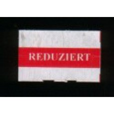 Etiket 26x16 rechthoek wit Reduziert Td27173092