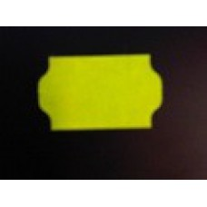 Etiket 32x19 golfrand fluor geel perm Td27213016
