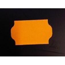 Etiket 32x19 golfrand fluor oranje perm Td27223015
