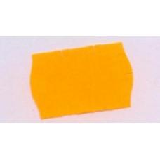 Etiket 26x16 golfrand oranje permanent Td27183015