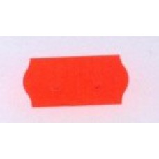 Etiket 26x12 golfrand rood permanent Td27113006