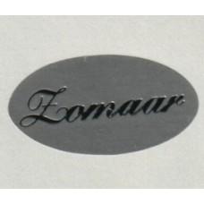 Etiket Zomaar zilver/zilver Td27515200