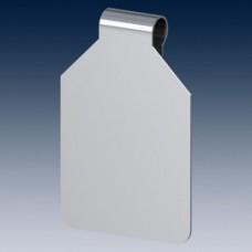 Prijs/scanvaantje metaal 27x30mm Tg77340E