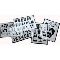 Sjablonen - set van 5 stuks Td40000599